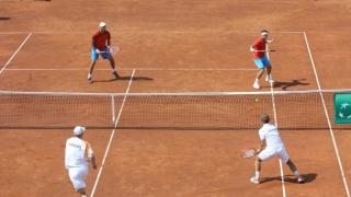 Selecție pentru echipa de Cupa Davis a României