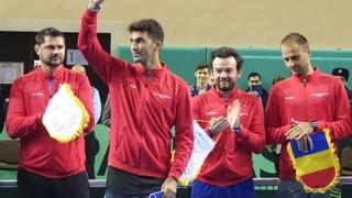 Cinci tenismeni convocați pentru partida România - Maroc