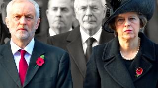Theresa May, cu popularitatea în vine după alegeri! Jeremy Corbyn, pe val