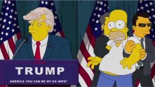 """""""The Simpsons"""" a prezis președinția lui Trump într-un episod din anul 2000"""