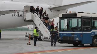 """Tot mai mulți pasageri pe Aeroportul """"Mihail Kogălniceanu"""""""