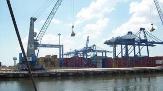 Traficul de containere, în creștere în Portul Constanța
