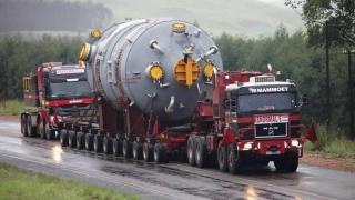 Transporturi agabaritice pe ruta Mihail Kogălniceanu - Independenţa
