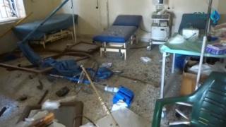 Trei spitale bombardate în Siria, în 24 de ore