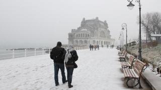 Trei zile de ger, lapoviță și ninsoare la Constanța!