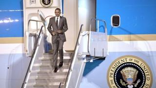Barack Obama, ajuns cu bine într-o vizită istorică în Cuba