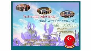 """UDTR: Festivalul Interetnic """"Primăvara Comunitară"""", ediţia a XVI-a"""