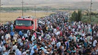 UE: De două ori mai mulţi refugiaţi în 2016 decât în 2015
