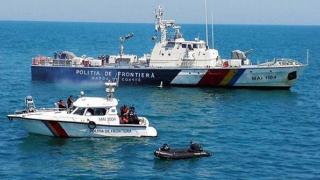 Pescador turcesc surprins la braconat și urmărit cu focuri de armă
