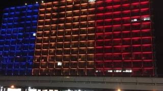 Israelul marchează Centenarul Marii Uniri: Primăria din Tel Aviv, luminată în culorile drapelului