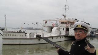 """Ultima navă de război cu aburi de pe Dunăre, """"Republica"""", va intra în reparații"""