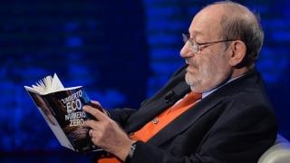 """Umberto Eco a plecat... """"În căutarea limbii perfecte"""""""