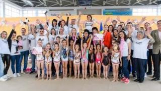 Medalii pentru fetițele din Cumpăna la CN de gimnastică ritmică pentru copii