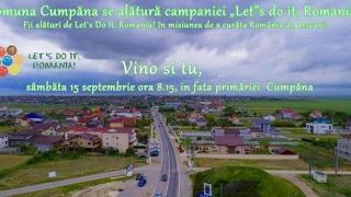 """Cumpăna se alătură campaniei """"Let's Do It, Romania!"""""""