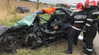 Cumplit accident rutier! Vezi ce s-a întâmplat