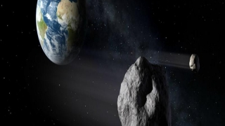 Un asteroid de dimensiuni mici, descoperit în ultimul moment lângă Pământ