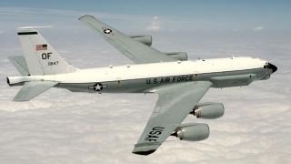 Un avion american de spionaj le-a dat emoții rușilor