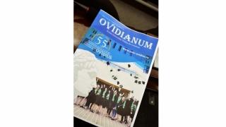 "Universitatea ""Ovidius"" a relansat revista ""Ovidianum"""