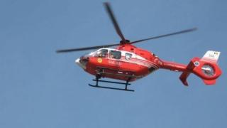 Un membru al Biroului Electoral din comuna constănțeană Pantelimon, preluat cu elicopterul SMURD!