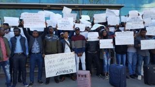 Un nou protest al studenților nigerieni de la UMC. Ce i-a nemulțumit
