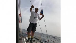 Un român solitar traversează Atlanticul