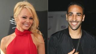 Pamela Anderson și Adil Rami, cuplul surpriză al verii