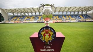 Încep sferturile Cupei României la fotbal