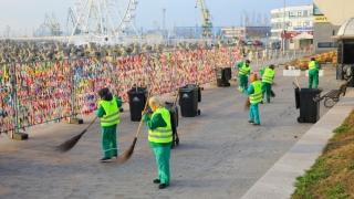 Campania de curățenie demarată de Primăria Municipiului Constanța s-a încheiat