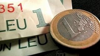 LEUL se PRĂBUȘEȘTE. EURO, la UN NOU MAXIM ISTORIC!