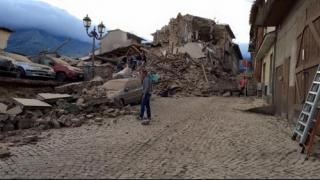 Două drumuri naționale din Italia închise în urma cutremurului