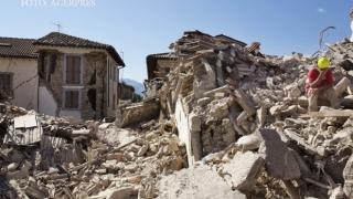 Trupurile neînsuflețite a 7 români morți după cutremurul din Italia, repatriate luni