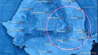 Cutremur de 3,9 grade, în această dimineață
