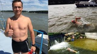 Va înota de la izvoarele Dunării până la vărsarea fluviului în Marea Neagră
