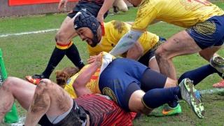Victorie cu punct-bonus pentru naționala de rugby, în Belgia