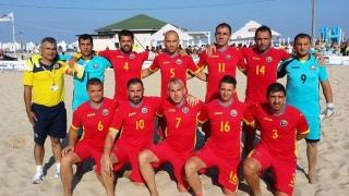 Victorii împărțite între naționalele de fotbal pe plajă ale României și Bulgariei