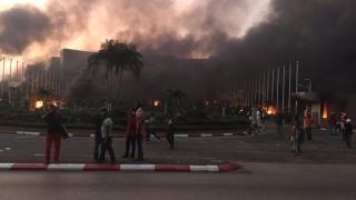 Violențe postelectorale în Gabon