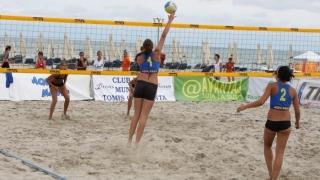 Volei pe plajă juvenil la Mamaia