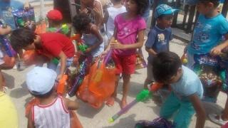 Surpriză pentru 400 de copii aflați în evidența serviciilor sociale