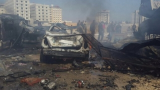 Explozii puternice în apropierea aeroportului din Damasc