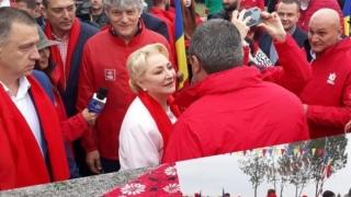 Dăncilă, la Constanța: PSD nu girează un guvern care nu continuă proiectele pentru țară