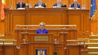 """Dăncilă, la ședința solemnă a Parlamentului:  """"Interesul naţional trebuie să primeze"""""""