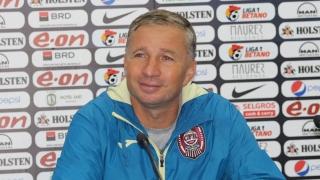 Dan Petrescu şi-a prelungit contractul cu CFR
