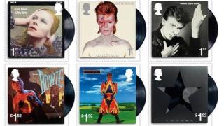 David Bowie, omagiat printr-o ediție specială de timbre lansată în atmosferă