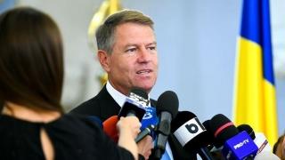 Klaus Iohannis a anunţat că va candida din nou la la Preşedinţia României