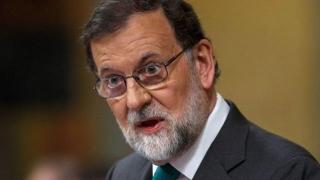 Premierul spaniol Mariano Rajoy, demis de Parlamentul spaniol