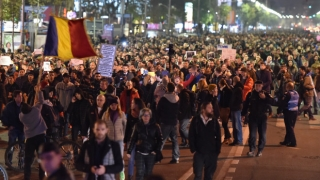 Continuă protestele împotriva ordonanței grațierii