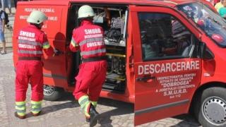 Accident grav în județul Constanța! Două persoane incarcerate!
