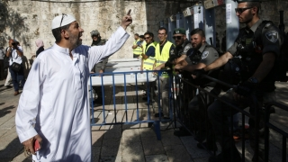 Detectoarele de metal de pe Esplanada Moscheilor, mărul discordiei între Israel şi Turcia