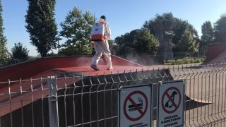 Dezinsecție în parcurile de distracție din Constanța