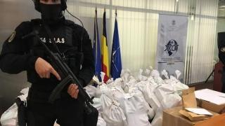 Captură record - o tonă de cocaină, în valoare de 300 milioane euro